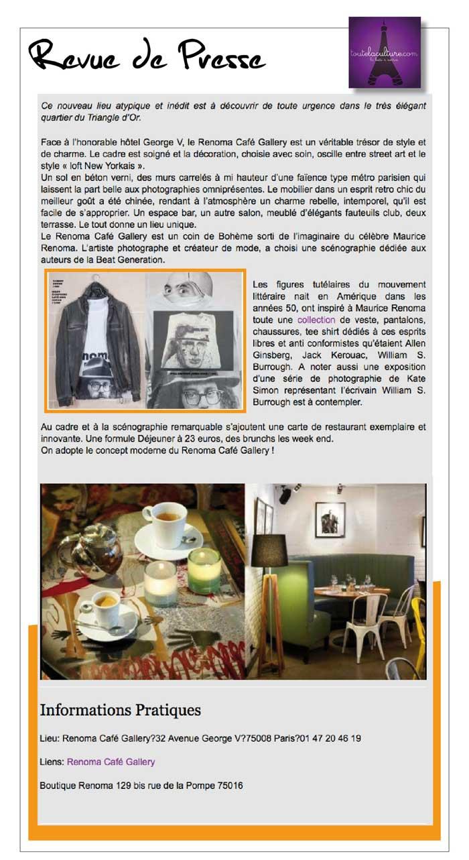 Revue de presse renoma caf gallery renoma le blog for Revue de decoration