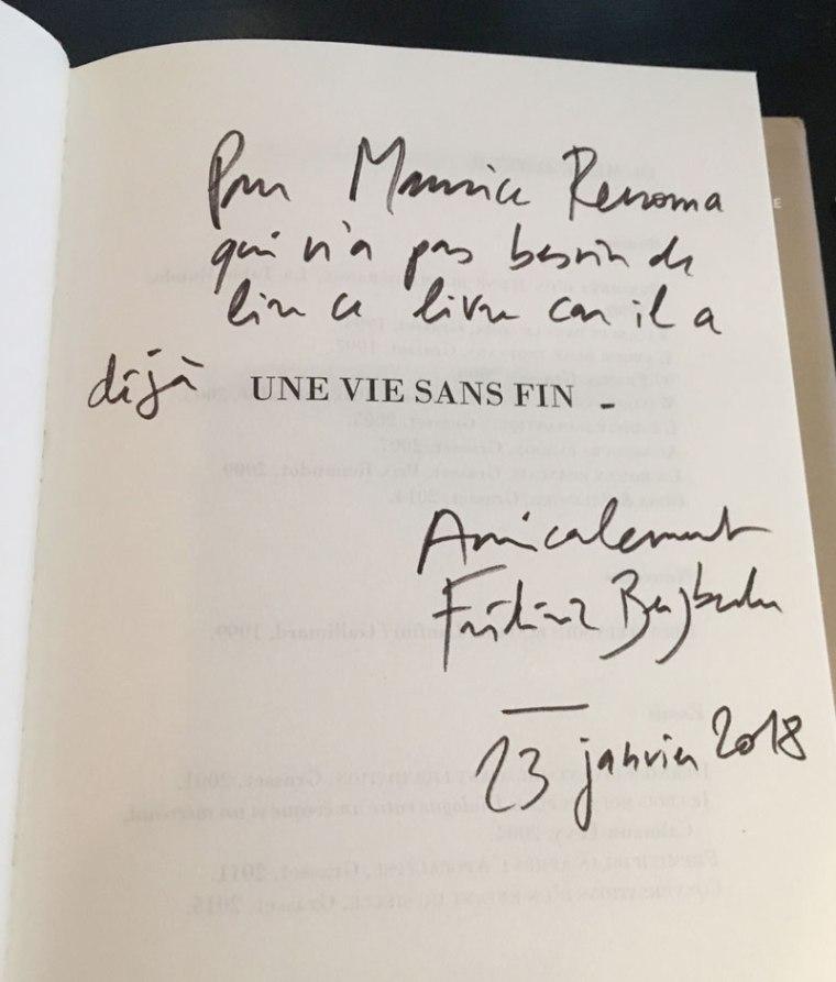 Dédicace-Frédéric-Beigbeder-pour-Maurice-Renoma-23012018